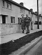 12/9/1952<br /> 9/12/1952<br /> 12 September 1952<br /> <br /> Mrs. Clara A Luger and her son Mr. Edward A. Luger in Ballymun