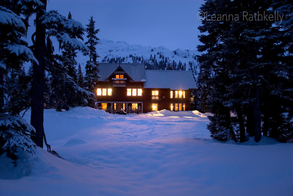 Women's trip to the Callaghan backcountry lodge, near Whistler, BC Canada