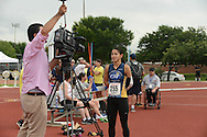 255 Katie Walker 2013 Paralympic Track & Field Trials in San Antonio, Texas.