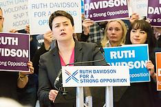 Ruth Davidson Eve of Poll Rally | Edinburgh | 4 May 2016