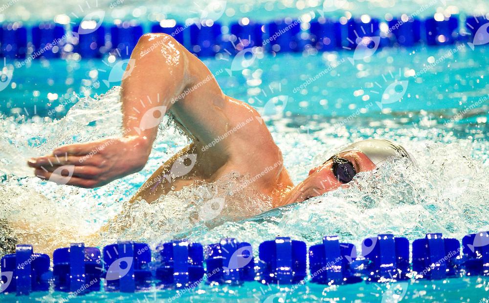 Joensen Pal  FAR   Bronze Medal.Men 1500m Freestyle Final.FINA World Short Course Swimming Championships.Istanbul Turkey 12 - 16 Dec. 2012.Day 05.Photo G.Scala/Deepbluemedia/Inside