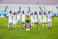October 7, 2017 - Monastir, Tunisia - Team of Congo during the qualifying match for the FIFA 2018 World Cup in Russia between Libya and the Democratic Republic of Congo (DR Congo) at Mustapha Ben Jannet stadium in Monastir  (Credit Image: © Chokri Mahjoub via ZUMA Wire)