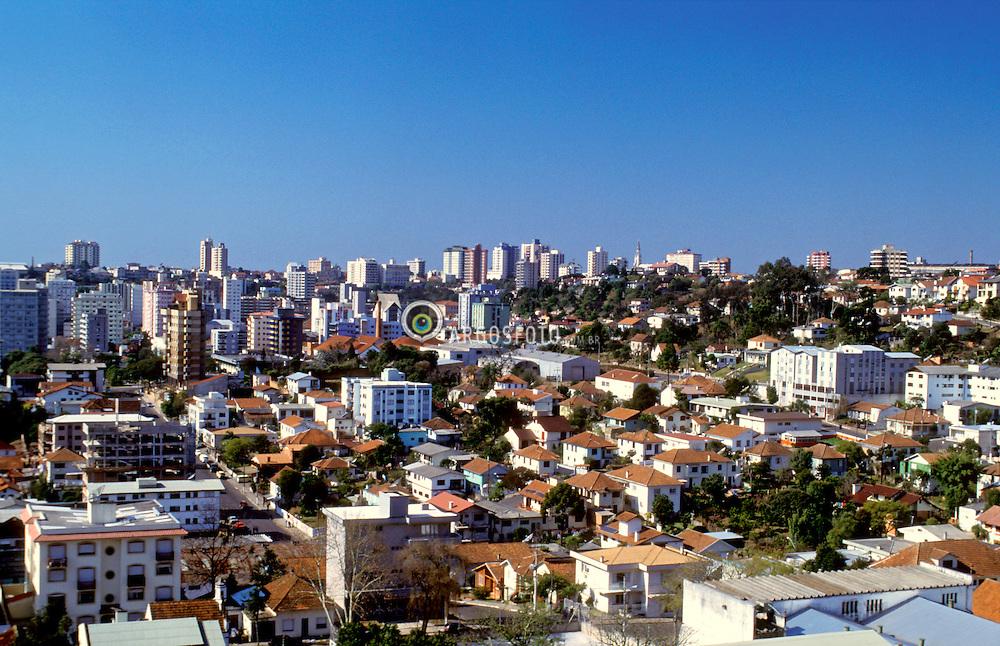Bento Goncalves, Rio Grande do Sul, Brasil. .Vista geral da cidade./ General view of the city..Foto ©Ana Maria Teles/Argosfoto