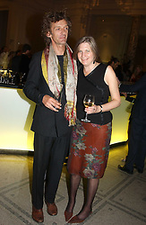 MR MATHEW & LADY ANNE CARR at a party to celebrate the publication of  'Put On Your Pearl Girls!' by Lulu Guinness held at the V&A museum, London on 5th May 2005.<br /><br />NON EXCLUSIVE - WORLD RIGHTS