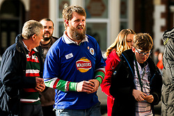 Leicester Tigers wear Leicester City shirts in memory of Chairman Vichai Srivaddhanaprabha who passed away in a helicopter crash - Mandatory by-line: Robbie Stephenson/JMP - 03/11/2018 - RUGBY - Welford Road Stadium - Leicester, England - Leicester Tigers v Worcester Warriors - Gallagher Premiership Rugby