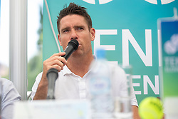 Gregor Krusic, director of Tennis Slovenia at Press conference before ATP Challenger Portoroz 2018, on July 17, 2018 in Ljubljana, Slovenia. Photo by Urban Urbanc / Sportida