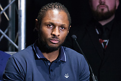 London, UK. 14th January, 2019. South London Super Middleweight Craig Richards appears at the press conference for a Matchroom Boxing card at the 02 on 2nd February where he will fight Jake Ball in a 10 X 3 mins Light-Heavyweight contest.