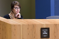 Austin District 8 Council Member Ellen Troxclair at City Council Meeting