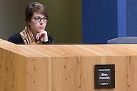 Austin District 8 Council Member Ellen Troxclair at City Council Meeting
