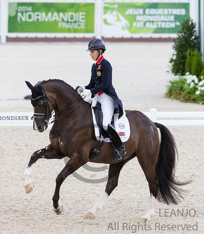 Charlotte Dujardin - Valegro<br /> Alltech FEI World Equestrian Games&trade; 2014 - Normandy, France.<br /> &copy; DigiShots