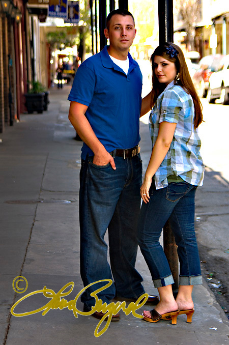 Engagement photos of Tiffani & Tyler