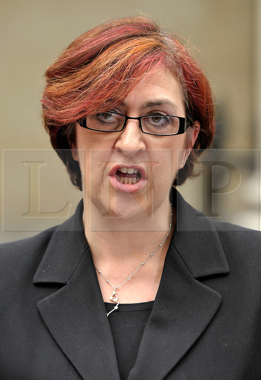 © Licensed to London News Pictures. 28/11/2013; Bristol, UK.  Tracy Easton, Deputy Chief Crown Prosecutor for the Crown Prosecution Service South West, speaks to the media after sentencing during the trial at Bristol Crown Court.  Lee James age 24 was convicted of what is described as the vigilante murder of Bijan Ebrahimi in Bristol, and was sentenced to life imprisonment.  Accomplice Stephen Norley age 24 was sentenced to 4 years.  28 November 2013.<br /> Photo credit : Simon Chapman/LNP
