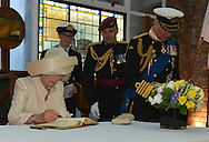 "QUEEN'S JUBILEE PAGEANT - CAMILLA and CHARLES.The Duchess of Cornwall and Prince Charles Signing the Royal Guest Book at HMS President..London. 03/06/2012.Mandatory Credit Photo: ©B Sutton/NEWSPIX INTERNATIONAL..**ALL FEES PAYABLE TO: ""NEWSPIX INTERNATIONAL""**..IMMEDIATE CONFIRMATION OF USAGE REQUIRED:.Newspix International, 31 Chinnery Hill, Bishop's Stortford, ENGLAND CM23 3PS.Tel:+441279 324672  ; Fax: +441279656877.Mobile:  07775681153.e-mail: info@newspixinternational.co.uk"