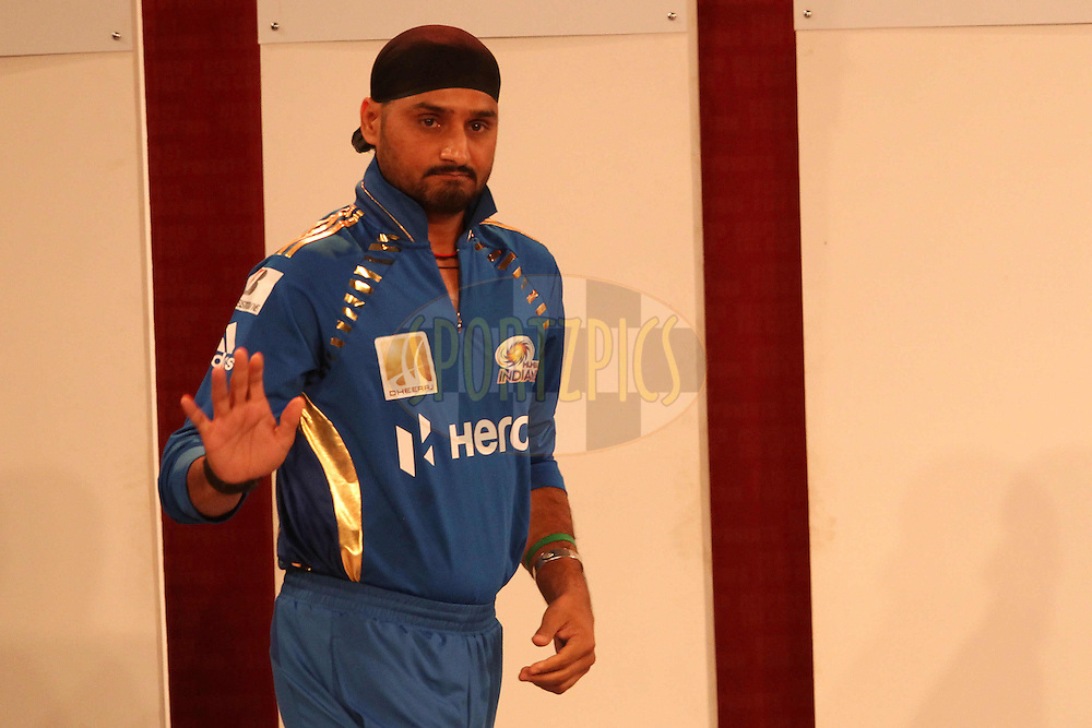 Harbhajan Singh during the opening night concert of the CLT20 held at the Bangalore Palace Grounds in Bangalore, Karnataka, India on the 22nd September 2011..Photo by Ron Gaunt/BCCI/SPORTZPICS