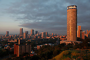 Hillbrow, The Ponte Tower and downtown Johannesburg. South Africa.<br /> Picture by Zute Lightfoot.