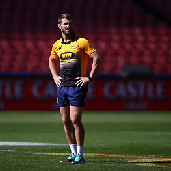 Willie le Roux of South Africa during the South African - Springbok Captain's Run at Emirates Airline Park,<br /> Johannesburg .South Africa. 08,06,2018 Photo by (Steve Haag Sports)