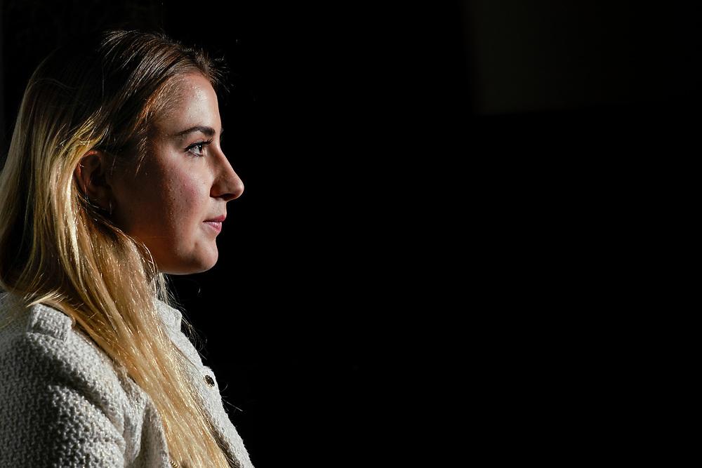 Belinda Bencic, n&eacute;e le 10 mars 1997 &agrave; Flawil, est une joueuse de tennis suisse d'origine slovaque.<br /> Lugano avril 2018<br /> &copy; Nicolas Righetti /Lundi13.ch