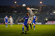 Ronan Curtis of Portsmouth in action during the EFL Sky Bet League 1 match between Gillingham and Portsmouth at the MEMS Priestfield Stadium, Gillingham, England on 1 January 2020.