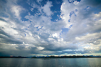 A dramatic foreboding sky that just needed to be photographed!  Quadra Island, Vancouver Island, Vancouver Island, Canada.