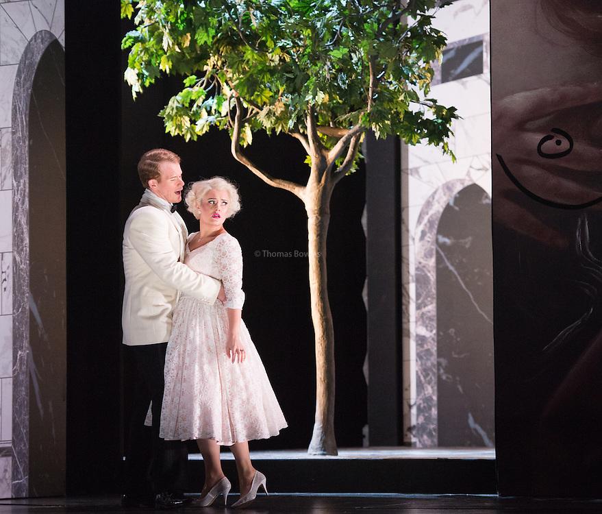 Glyndebourne Touring Opera present Don Giovanni by Wolfgang Amadeus Mozart<br /> <br /> <br /> Don Giovanni - Duncan Rock<br /> <br /> Zerlina  - Louise Alder<br /> <br /> Conductor Pablo Gonz&aacute;lez (15, 22, 25, 27, 30 Oct; 4,8, 11, 15, 18, 22, 25 Nov)<br /> Ben Gernon (29 Nov; 2, 6, 9 Dec)<br /> Director Jonathan Kent<br /> Revival Director Lloyd Wood<br /> Designer Paul Brown<br /> Lighting Designer Mark Henderson<br /> <br /> The Glyndebourne Tour Orchestra<br /> The Glyndebourne Chorus<br /> <br /> Don Giovanni Duncan Rock<br /> Donna Anna Ana Maria Labin<br /> Don Ottavio Anthony Gregory<br /> Donna Elvira Magdalena Molendowska<br /> Leporello Brandon Cedel<br /> Il Commendatore Andrii Goniukov<br /> Zerlina Louise Alder<br /> Masetto Božidar Smiljanić