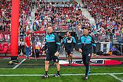 ALKMAAR - 26-06-2016, eerste training AZ, AFAS Stadion, AZ trainer John van den Brom,  Assistent trainer Dennis Haar,