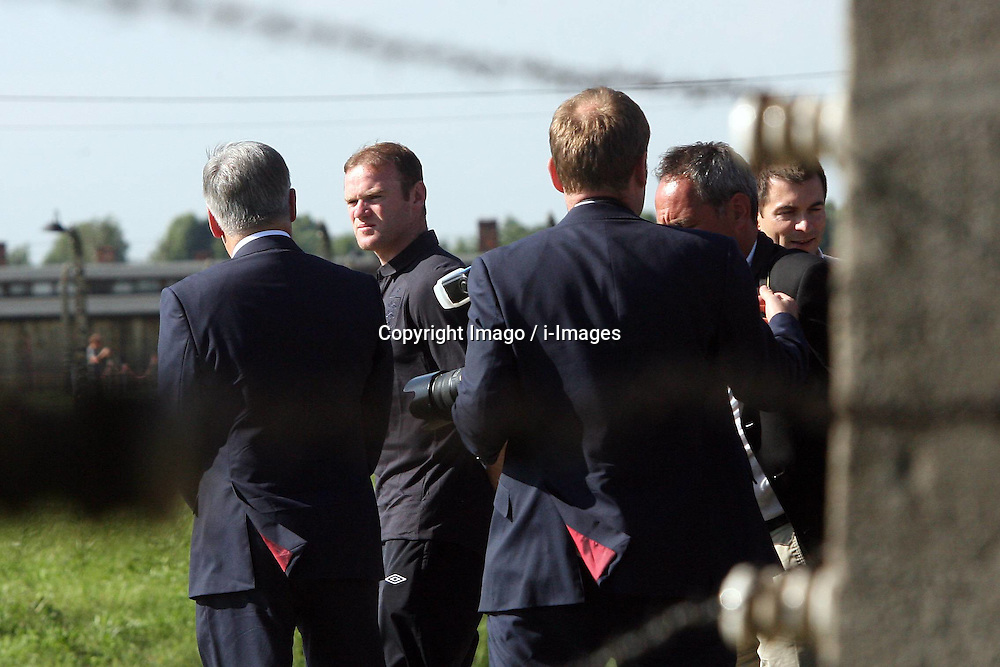 England Euro 2012 football team visit  Auschwitz  concentration camp in Poland on Friday, 8th June 2012 , Photo by: Imago / i-Images