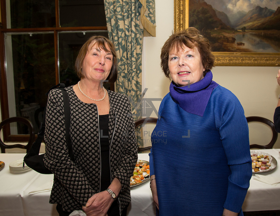 22.11.2016                   <br /> University of Limerick (UL) hosted a gala concert celebrating the music of renowned composer M&iacute;che&aacute;l &Oacute; S&uacute;illeabh&aacute;in.<br /> <br /> Pictured at a special reception before the concert were, Foinnuala MacMahon and Deirdre Lyddy.<br /> <br /> <br /> The RT&Eacute; Concert Orchestra, conducted by David Brophy, performed with M&iacute;che&aacute;l and a selection of special guests in University Concert Hall Limerick. Picture: Alan Place