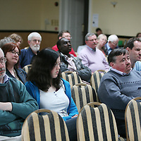 Some of the attendance at the Shannon Peace Forum facilitated by the Peace and Neutrality Alliance at the Park Hotel ,Shannon on Saturday.<br /> <br /> Photograph by Eamon Ward