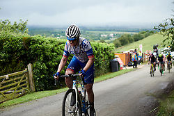 Lauren Kitchen (AUS) on the final lap at Stage 4 of 2019 OVO Women's Tour, a 158.9 km road race from Warwick to Burton Dassett, United Kingdom on June 13, 2019. Photo by Sean Robinson/velofocus.com