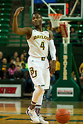 WACO, TX - JANUARY 3: Gary Franklin #4 of the Baylor Bears brings the ball up court against the Savannah State Tigers on January 3, 2014 at the Ferrell Center in Waco, Texas.  (Photo by Cooper Neill) *** Local Caption *** Gary Franklin