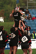 "Women's Rugby, ""Bread of life"" Cup Final. 1998, Saracens Vs Wasps.  24/04/1998.  Photo. Peter Spurrier/Intersport Images.[Mandatory Credit, Peter Spurrier/ Intersport Images]..."