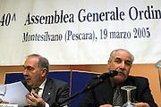 Montesilvano, 19 marzo 2005<br /> XL Assemblea Generale Montesilvano 2005<br /> Foto Ciamillo<br /> maifredi