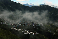 A view of Leiva, a small remote village in the southern Colombian state of Nariño, on June 21, 2007. (Photo/Scott Dalton)