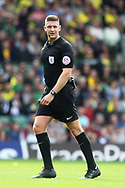 Referee Rob Jones during the Sky Bet Championship match at Carrow Road, Norwich<br /> Picture by Paul Chesterton/Focus Images Ltd +44 7904 640267<br /> 23/09/2017