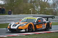 Century Motorsport #69 Ginetta G55 GT3 Harry Gottsacker/Nathan Freke GT3 Silverduring British GT Championship as part of the BRDC British F3/GT Championship Meeting at Oulton Park, Little Budworth, Cheshire, United Kingdom. April 15 2017. World Copyright Peter Taylor/PSP.  Copy of publication required for printed pictures.  Every used picture is fee-liable. http://archive.petertaylor-photographic.co.uk
