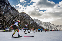 During Ladies 1.2 km Free Sprint Qualification race at FIS Cross Country World Cup Planica 2016, on January 16, 2016 at Planica, Slovenia. Photo By Urban Urbanc / Sportida