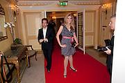 Tom Hollander; Clemency Burton-Hill, The South Bank Sky Arts Awards , The Dorchester Hotel, Park Lane, London. January 25, 2011,-DO NOT ARCHIVE-© Copyright Photograph by Dafydd Jones. 248 Clapham Rd. London SW9 0PZ. Tel 0207 820 0771. www.dafjones.com.