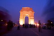 India Gate, New Delhi, India.
