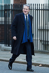 London, UK. 8th January, 2019. Damian Hinds MP, Secretary of State for Education, arrives at 10 Downing Street for the first Cabinet meeting since the Christmas recess.