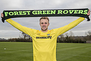signs a contract with Forest Green Rovers at Stanley Park, Chippenham, United Kingdom on 14 January 2019.