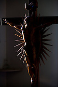 Januaria_ MG, Brasil...Imagem de Jesus Cristo em Januaria, Minas Gerais...Jesus Christ image in Januaria, Minas Gerais...Foto: LEO DRUMOND /  NITRO