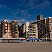 Russian buildings in Brooklyn Beach.