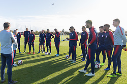November 12, 2018 - Brentford, London, Europe - England - Monday November 12, 2018: The USMNT train in preparation before an international friendly against England. (Credit Image: © John Dorton/ISIPhotos via ZUMA Wire)