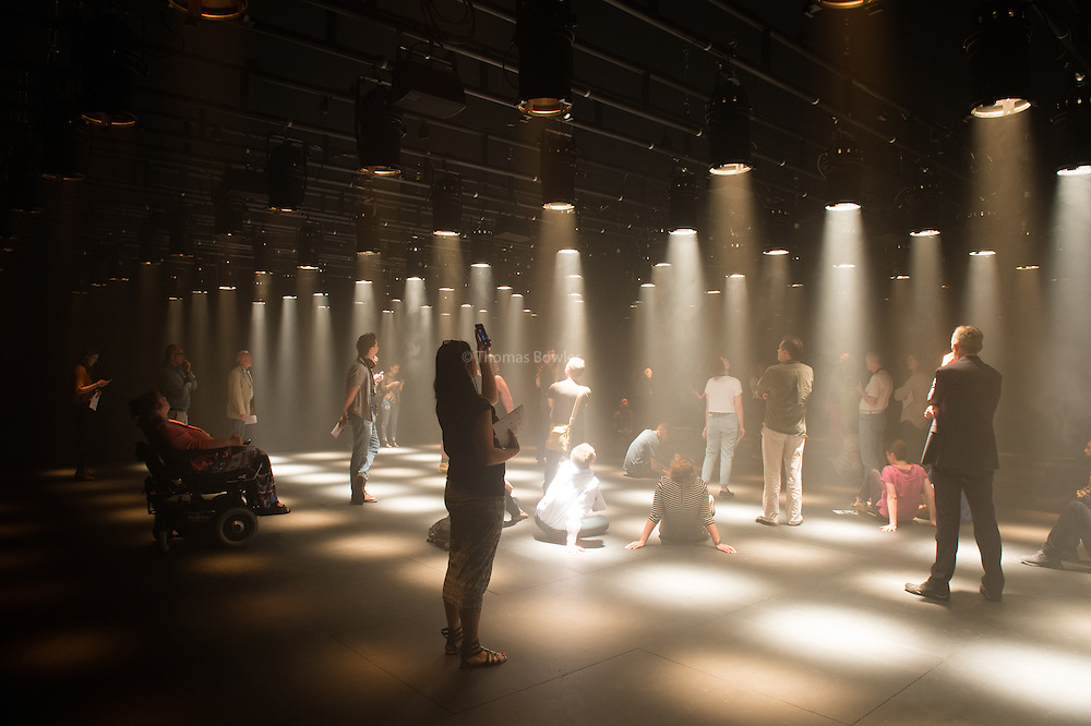 No Body - works by Michael Hulls, Nitin Sawhney, Lucy Carter, Siobhan Davies and Russell Maliphant at Sadler's Wells.<br /> Dance Without Dancers.