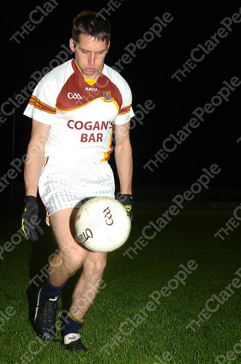 Gordon Kelly of the Milltown Malbay senior football team<br /> Picture.Press 22