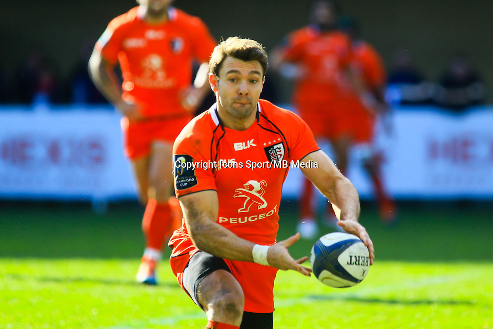 Vincent CLERC - 25.01.2015 -  Montpellier / Toulouse - European Champions Cup <br /> Photo : Nicolas Guyonnet / Icon Sport