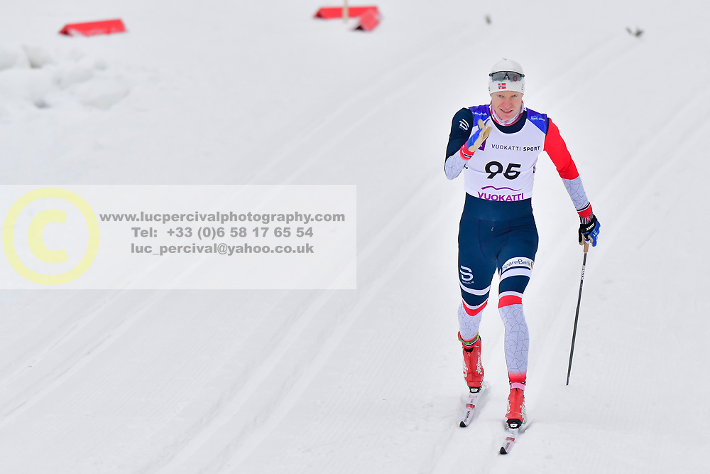 OLSRUD Hakon, NOR, LW8 at the 2018 ParaNordic World Cup Vuokatti in Finland