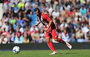 *** during the Pre-Season Friendly match between Brighton and Hove Albion and Sevilla at the American Express Community Stadium, Brighton and Hove, England on 2 August 2015.