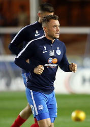 Ricky Miller of Peterborough United during the pre-match warm-up - Mandatory by-line: Joe Dent/JMP - 21/11/2017 - FOOTBALL - ABAX Stadium - Peterborough, England - Peterborough United v Portsmouth - Sky Bet League One