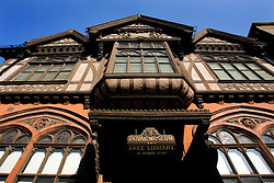 UK ENGLAND CANTERBURY 15OCT05 - Facade of the City Library in the Canterbury town centre, the second most visited city in England...jre/Photo by Jiri Rezac..© Jiri Rezac 2005.Contact: +44 (0) 7050 110 417.Mobile: +44 (0) 7801 337 683.Office: +44 (0) 20 8968 9635..Email: jiri@jirirezac.com.Web: www.jirirezac.com..© All images Jiri Rezac 2005 - All rights reserved.